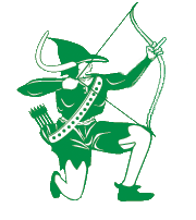 Green Archer Logo giving the dirty finger